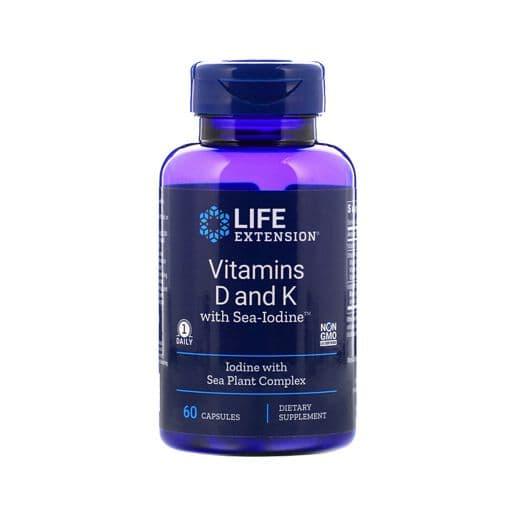 vitamin D, K