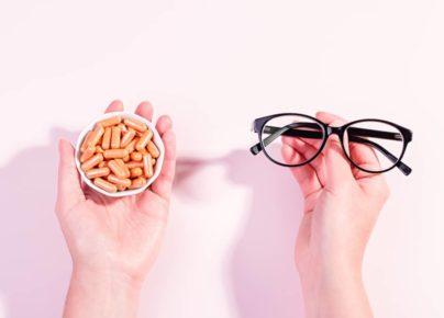 Vitamin và chất bổ sung giúp cải thiện tình trạng khô mắt